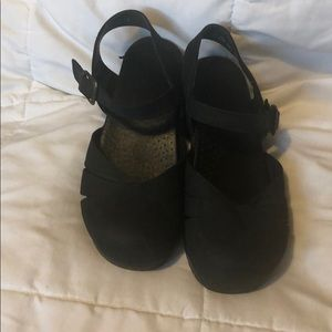 Black Dansko sandals